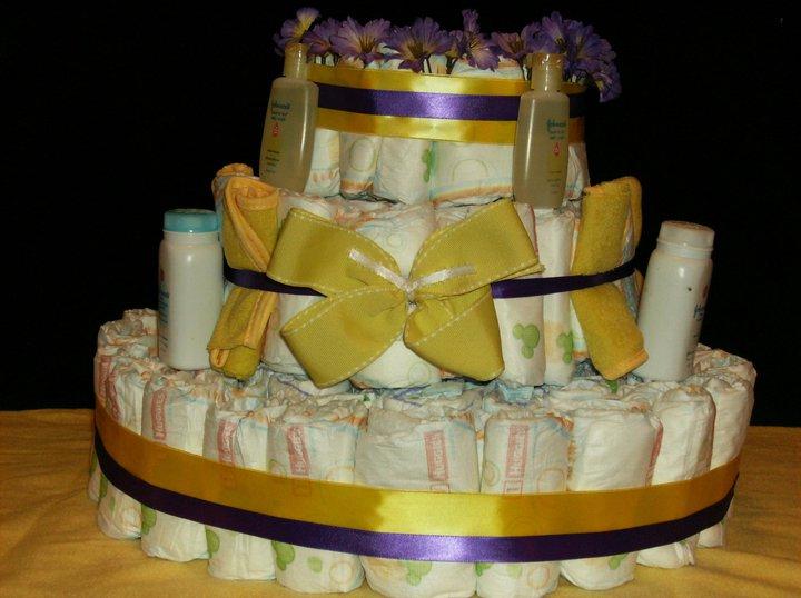 Diaper Cakes - Kylee\'s Kreations